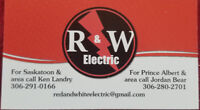 Affordable electrical services. Free estimates.