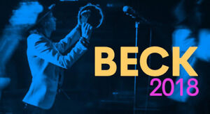 BECK TICKETS/SECTION 114 ROW H/JULY 10/BELOW COST/SAVE $46.00