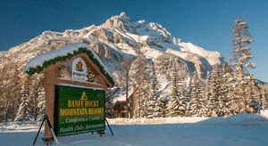 Banff Rocky Mountain Resort- with option for a few days stay