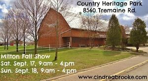 Fall Gift & Craft Show Sept. 17 & 18, 9:am - 4:pm