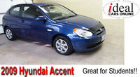 2009 Hyundai Accent Hatchback-Low Mileage!!--ONLY 104K!!
