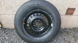 Vauxhall antara spare wheel