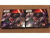 Star Wars the Force Awakens Tie Fighter x 2 - BNIB