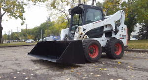 """HEAVY DUTY SKID STEER SNOW / MULCH BUCKET 72"""" 80"""" 96"""" TOOTHED"""