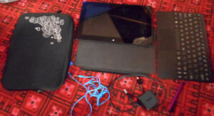 Asus tablet with acessories