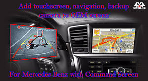 Car Reverse Rear View Backup camera for Mercedes E SLK ML