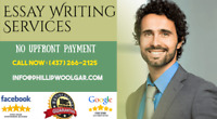 Essay Writing - Low Price and No Up Front Payment