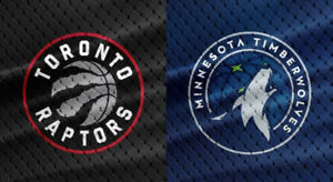 Raptors vs TWolves - Wed. Oct 22 (Upper & Lower Bowl Tickets)