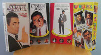4-Rowan Atkinson as Mr Bean on VHS tapes