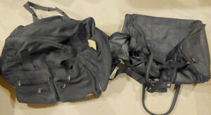 Various (travel, gym) bags, garment bag ($ 2 and up)
