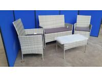 CN-E86 GARDEN TABLE AND CHAIRS