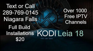 Android Box Sales,Programming Kodi 18/IPTV Installations