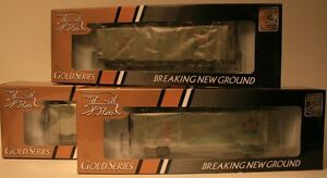BRAND NEW / x3 / HO Scale / True Line Trains / 8 Hatch Reefers