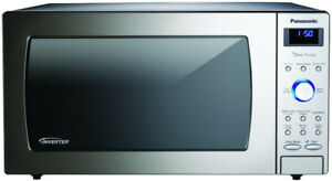 Used EXTRA LARGE 2.2 cu.ft Stainless Steel Panasonic Microwave