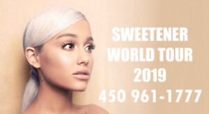 ARIANA GRANDE : SECTIONS CLUB, ROUGE ET PARTERRE !!!