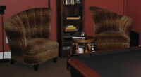 ARMCHAIRS, SOFA CHAIRS, TWO for $200 - $200