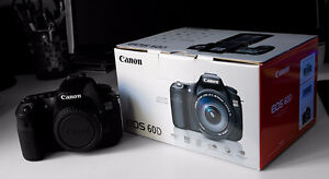 Canon Eos 60D Perfect condition! (Body+ Battery & charger)