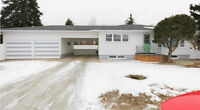 2 bed 2 bath double garage Moose Jaw