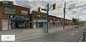 Store for Rent at busy location, includes basement and washroom