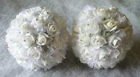 """2 Sparkle Flower Girls Or Kissing Balls""""Wedding Flowers"""""""