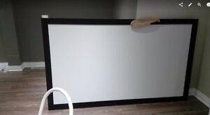 """100"""" Silver Ticket Projector Screen (Sound transparent)"""