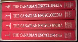 The canadian encyclopedia buy sell items from clothing to book for sale the canadian encyclopedia 4 volume edition freerunsca Choice Image
