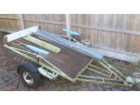 Motorcycle Trailer (1 or 2 bikes) with Electrics