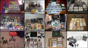 Collector: Want to BUY ALL Old Video Games!