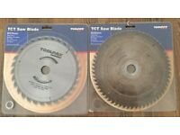 Two TCT saw blades