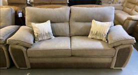 Grey 3 and 2 seater sofa set