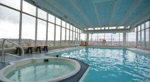 1-Bedroom Downtown Condo – Swimming Pool, Hot Tub,  Gym....