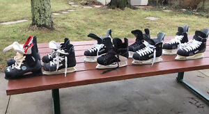 Kids Hockey Skates, 5 pairs.
