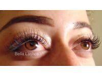 Individual Eyelash Extensions by Bella Lashes