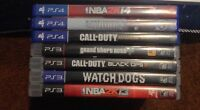 Playstation 3 & 4 games for sale