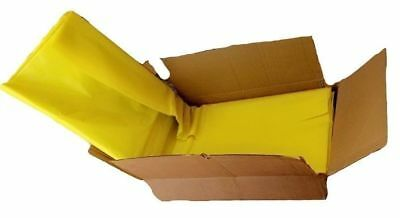 100 Yellow Standard Refuse Bin Bags / Sacks Pack of 100 Size 18'' x 29'' x 39''