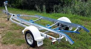 GAL BOAT TRAILER SUITS UP TO 5.35 mt ALI HULL BRAKED 1190 kg ATM Erina Gosford Area Preview