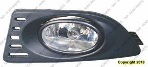 Fog Light With Kit Driver Side/Passenger Side High Quality Acura RSX 2005-2006