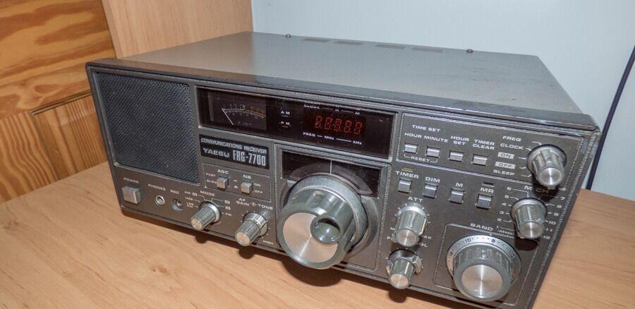Yaesu FRG-7700 - HF Communications Receiver