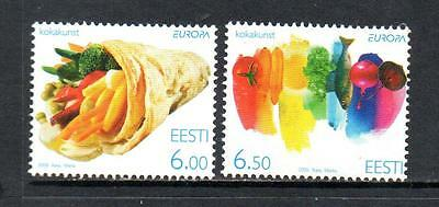 ESTONIA MNH 2005 SG486-487 EUROPA - GASTRONOMY
