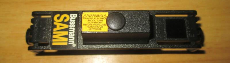 NEW COOPER BUSSMANN SAMI FUSE COVER SAMI-1, NEW & READY TO WORK