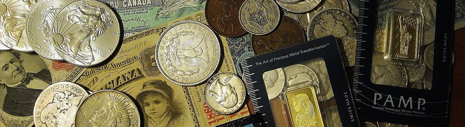 US World Coins and Currency