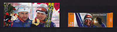 Estonia - 2006 Olympic Gold Medalists - U/M - SG 515 + MS516
