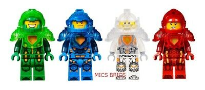 LEGO - Nexo Knights - Ultimate Aaron, Clay, Lance & Macy - Mini Figures