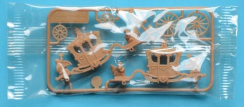 R&L 1970s OLD TIMERS - ROYAL STATE COACH 1792 - plastic cereal toy MIB