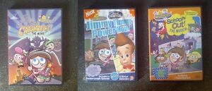 Fairly Oddparents DVD Collection (4) & VHS & Books