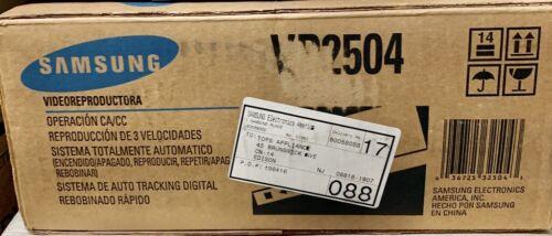 Samsung VP2504 VCR New Vintage VCP