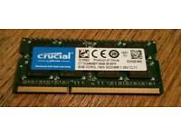8Gb DDR3-1600 SODIMM (PC3-12800) RAM