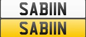 SABIIN Private number plate for sale Sabina