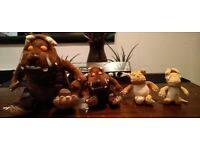The Gruffalo plush toys bundle *collection only*
