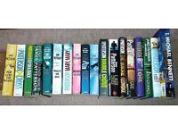 James Patterson books (18) for sale